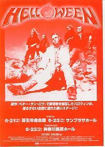 HELLOWEEN An Udo Artists Presentation 1998 FLYER Japan Promo Flyer For Tour • 3.14£