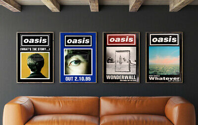 Original Oasis Posters - Collectors Set 1 • 119.99£