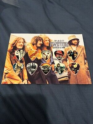 Led Zeppelin Matted Picture Guitar Pick Set- Limited Edition • 19.49£