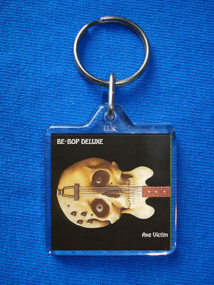 Be Bop Deluxe Axe Victim Keyring Bill Nelson • 1.85£