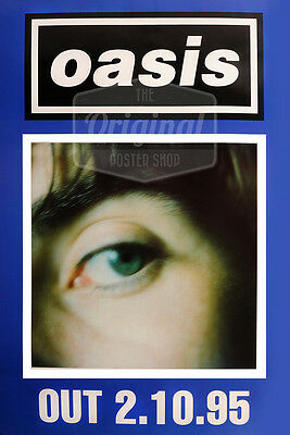 Original Litho-printed Oasis Tour Poster - What's The Story Morning Glory • 29.99£