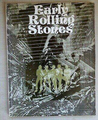 Rare 'EARLY ROLLING STONES'  Sheet Music Book Published By  Jewel (16 Songs) • 9.95£