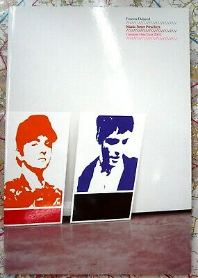 Manic Street Preachers Forever Delayed Tour Programme New 2002 • 7.99£
