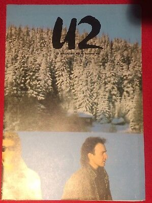 U2 NUMBER FIFTEEN Magazine Pre-Propaganda SUMMER 85 Genuine Official Promo • 29.99£