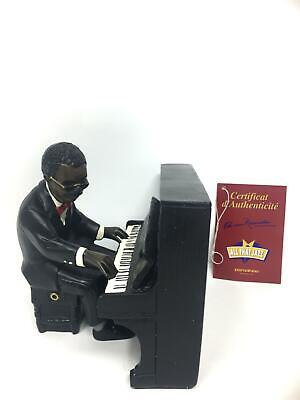 Piano Player Figurine Sculpture Jazz Blues Pianist Musician Statue | 3174 • 42.99£