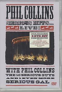 PHIL COLLINS Serious Hits Live DVD Europe Warner Music 2003 2 Disc Pal Format • 23.09£