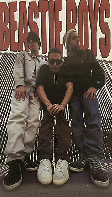Beastie Boys On Capitol Records 1992 Promo Poster 18 X 30 • 34.97£