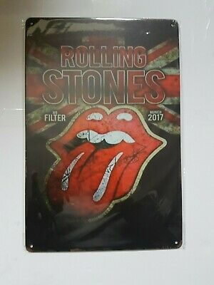 Rolling Stones Vintage Style Metal Sign Plaque Poster English Rock • 6.90£