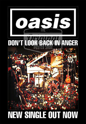 Oasis Poster - Don't Look Back In Anger (1st Gen Reprint) • 24.99£
