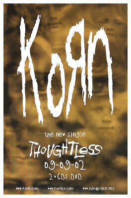 Korn Poster - Thoughtless • 19.99£