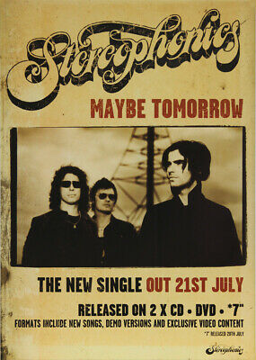 Stereophonics Poster - Maybe Tomorrow • 19.99£
