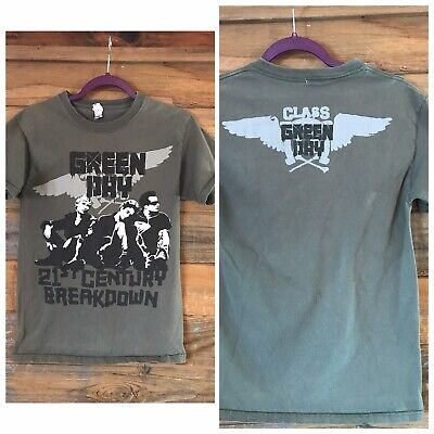 Green Day 21st Century Breakdown Tour Shirt Adult Small  • 7.10£