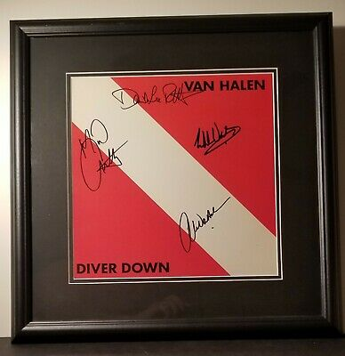 Van Helen Signed Diver Down Album  • 763.51£
