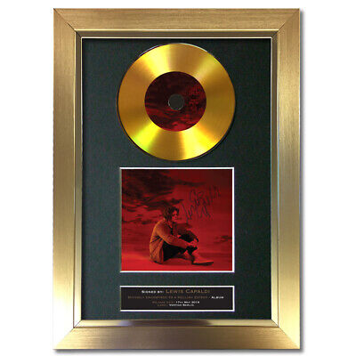 GOLD DISC LEWIS CAPALDI Divinely Uninspired Signed Autograph Mounted Print 196 • 8.99£