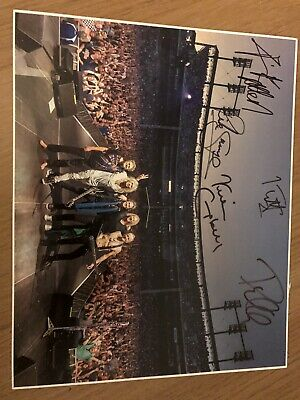 Def Leppard Signed Picture Glasgow Hydro 10x8 • 150£
