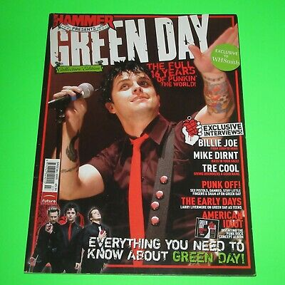 GREEN DAY - Metal Hammer Collectors Edition UK Magazine 2005 (156 Pages) • 9.95£