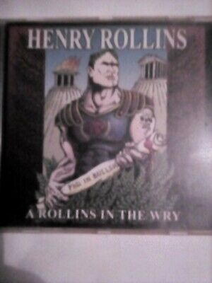 Henry Rollins A Rollins In The Wry Cd • 6£
