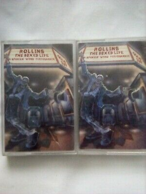 Henry Rollins The Boxed Life Cassettes • 10£