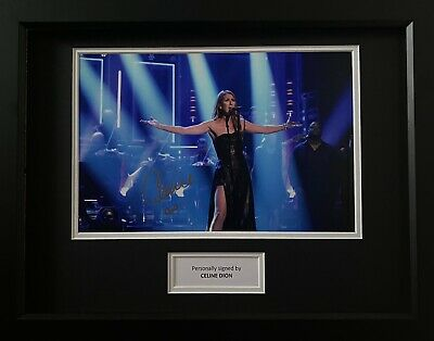 Celine Dion Genuine Hand Signed 12x8 Music Photo, View Proof, 1 • 124.99£