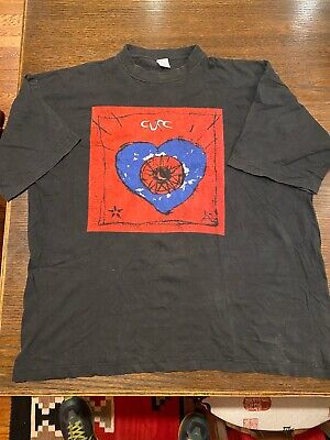 Vintage The Cure Ireland Made Local Tour T Shirt 90s XL EUC • 237.80£
