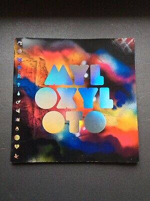 Coldplay Mylo Xyloto Tour Programme + Stickers • 21.99£