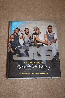 *AUTHENTIC SIGNED* JLS Just Between Us: Our Private Diary Hardback Book • 19.99£