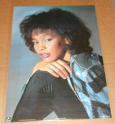 Whitney Houston 1986 Poster 35x24 • 33.17£