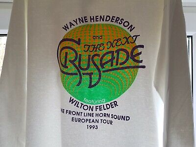 The Jazz Crusaders T-Shirt Promoting 1993 Tour XL Size Decent Condition • 29.99£