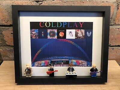 Coldplay Custom Lego Minifigure Frame • 35£
