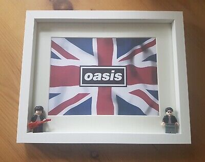 Oasis (Gallagher Brothers) Custom Minifigure Frames • 25£