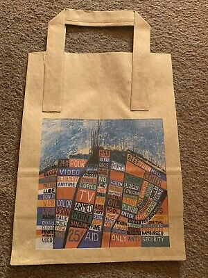 Radiohead Hail To The Thief Promo Paper Bag • 5£