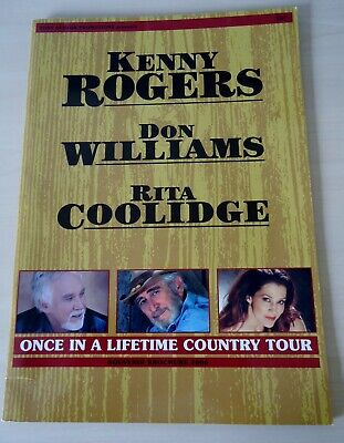 Kenny Rogers, Don Williams, Rita Coolidge Once In A Lifetime Country Programme • 25£