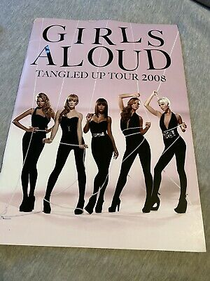 Girls Aloud Tangled Up Tour 2008 Programme Rare Deleted • 29.99£