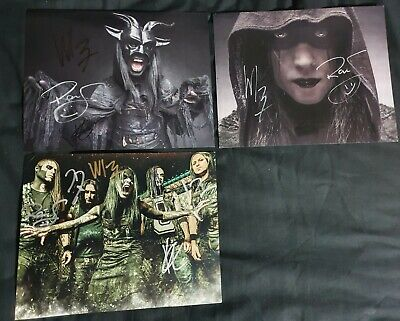 Wednesday 13 Hand Signed Posters • 20£