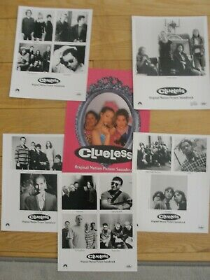 CLUELESS (Original Soundtrack) 1995 PRESS KIT & PHOTOS - Beastie Boys, Radiohead • 7.97£