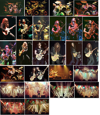 120 Motorhead Colour Concert Photos 1979, 80, 81, 2005 • 11.99£