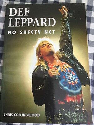 DEF LEPPARD: No Safety Net - Chris Colingwood (softback) • 25£
