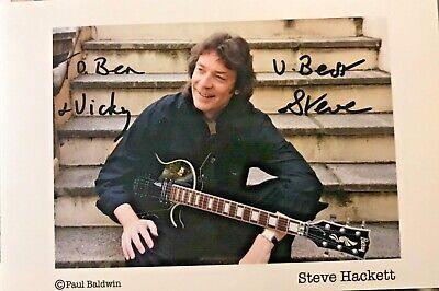 Steve Hackett (Genesis) ,  Hand Signed Autograph Picture With COA • 13.66£