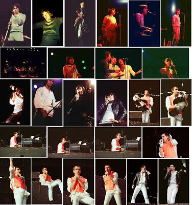 120 Peter Gabriel Concert Photos 1977/78/79/82/83 2004 • 11.99£