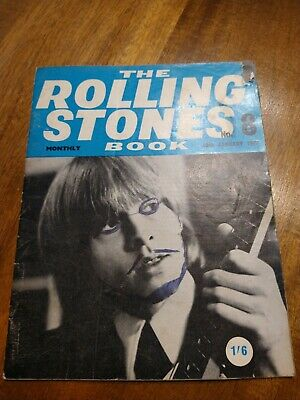 The ROLLING STONES BOOK MONTHLY Original Magazine No.8 January 10th 1965 • 8.99£