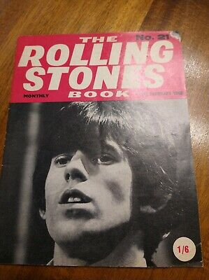 The ROLLING STONES BOOK MONTHLY Original Magazine No.21 February 10th 1966 • 8.99£