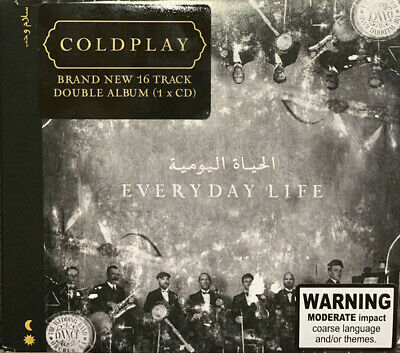 COLDPLAY - Everyday Life 2019 Audio CD NEW & SEALED • 3.98£