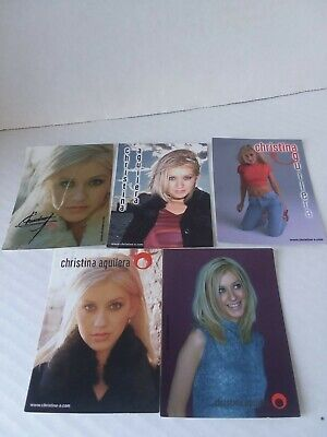 Christina Aguilera 5 Stickers • 11.91£
