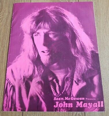 John Mayall - 1969 UK Tour Programme • 12.99£
