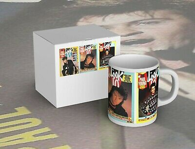 Striking Paul Young Look-In Mug - New In Picture Box - Free P+P • 7.99£