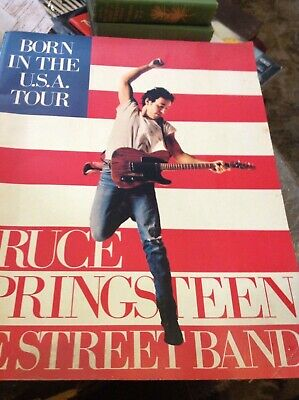 Bruce Springstein..Born In The USA Tour..ticket Stub And Book..1984.. Folio • 14.99£