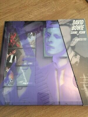 David Bowie Collectable Sound And Vision Cassettes • 8.27£