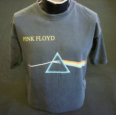 Pink Floyd Vintage Dark Side Of The Moon T Shirt By Anvil Size L • 17.95£