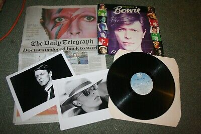 Best Of David Bowie Vintage Lp 1980 Record Collection • 10£