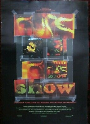 THE CURE Original 'SHOW' Promo Poster From 1993 (510 X 760mm) RARE • 40£